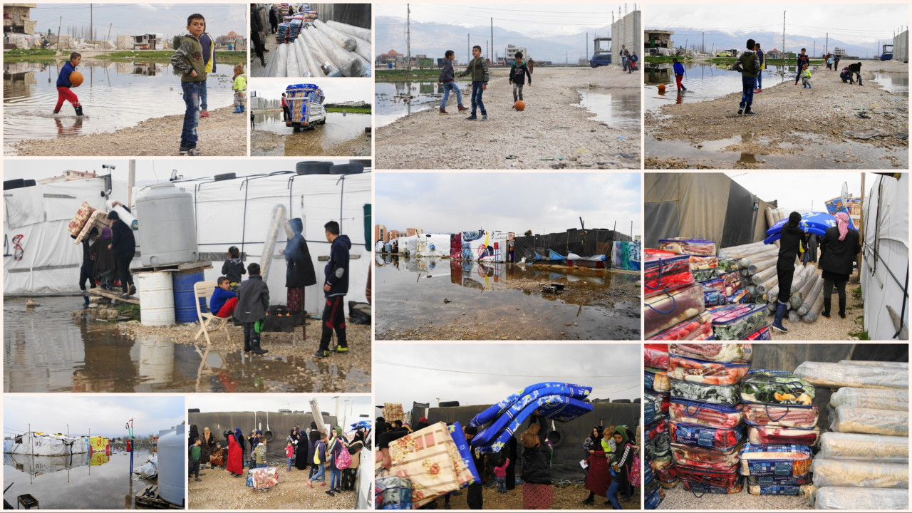 Aid to Flooding Victims