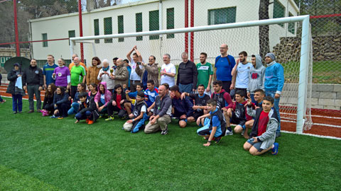 Inauguration of Martin Ruopp Football Field